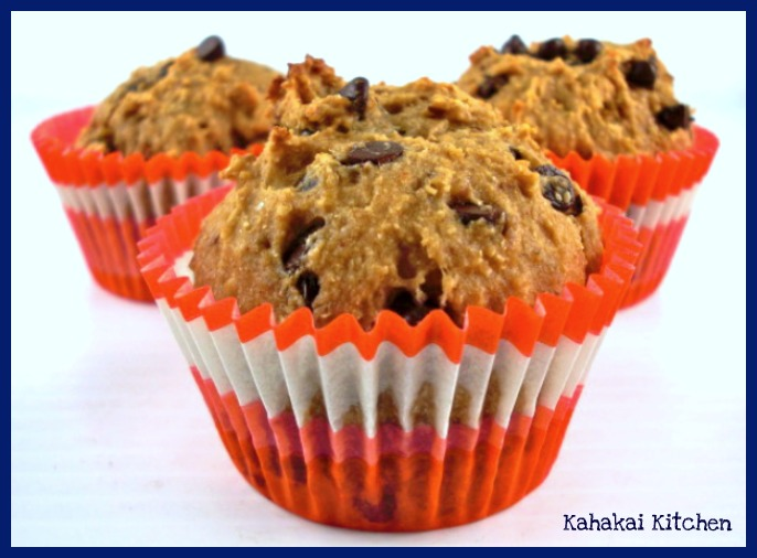 ... Kitchen: Healthier Banana, Peanut Butter & Chocolate Chip Muffins