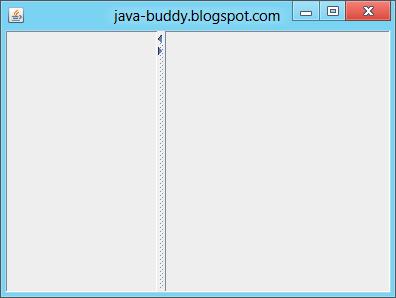 Basic JSplitPane