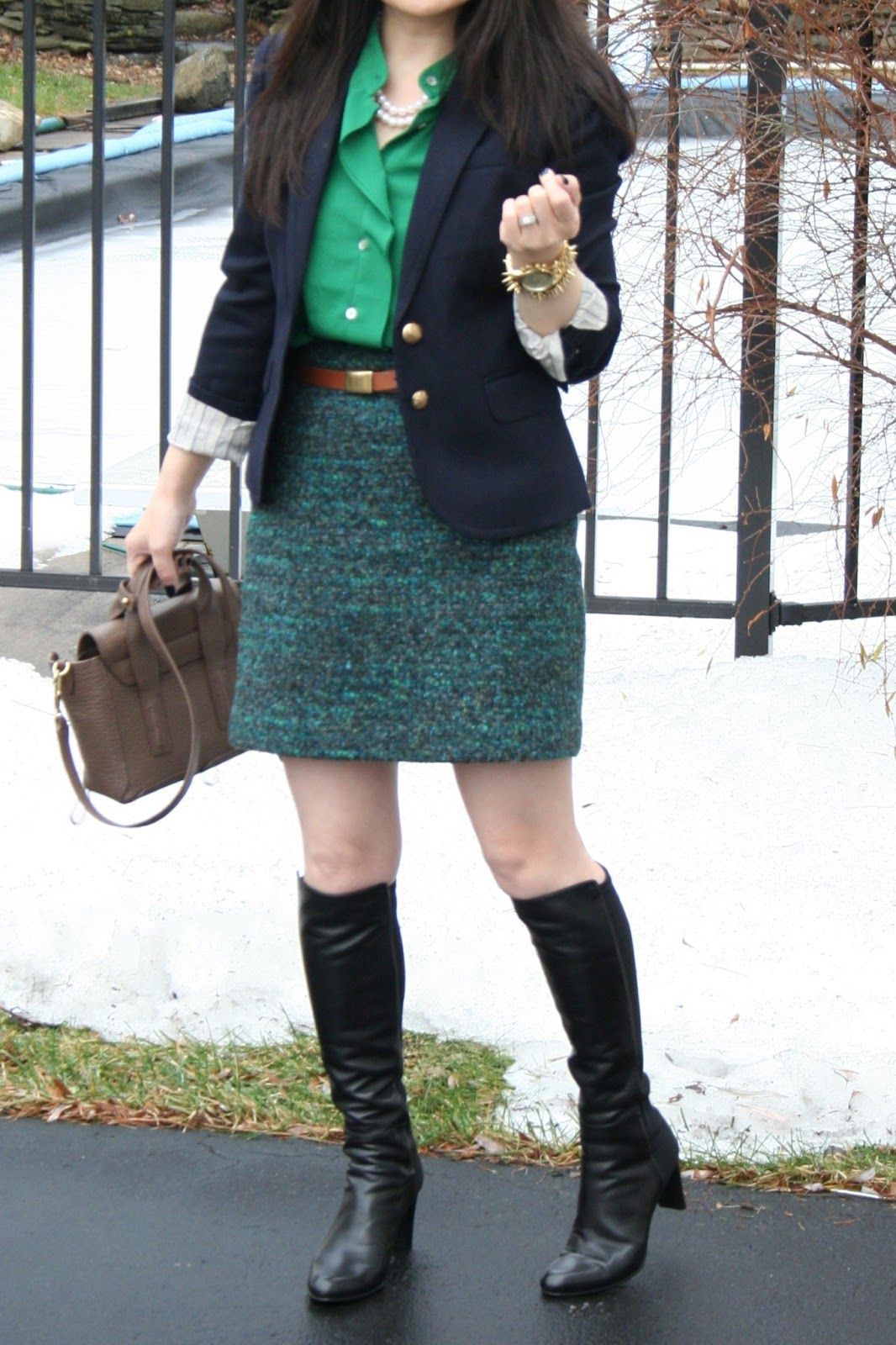 Vicky S Daily Fashion Blog Stuart Weitzman 50 50 Boots