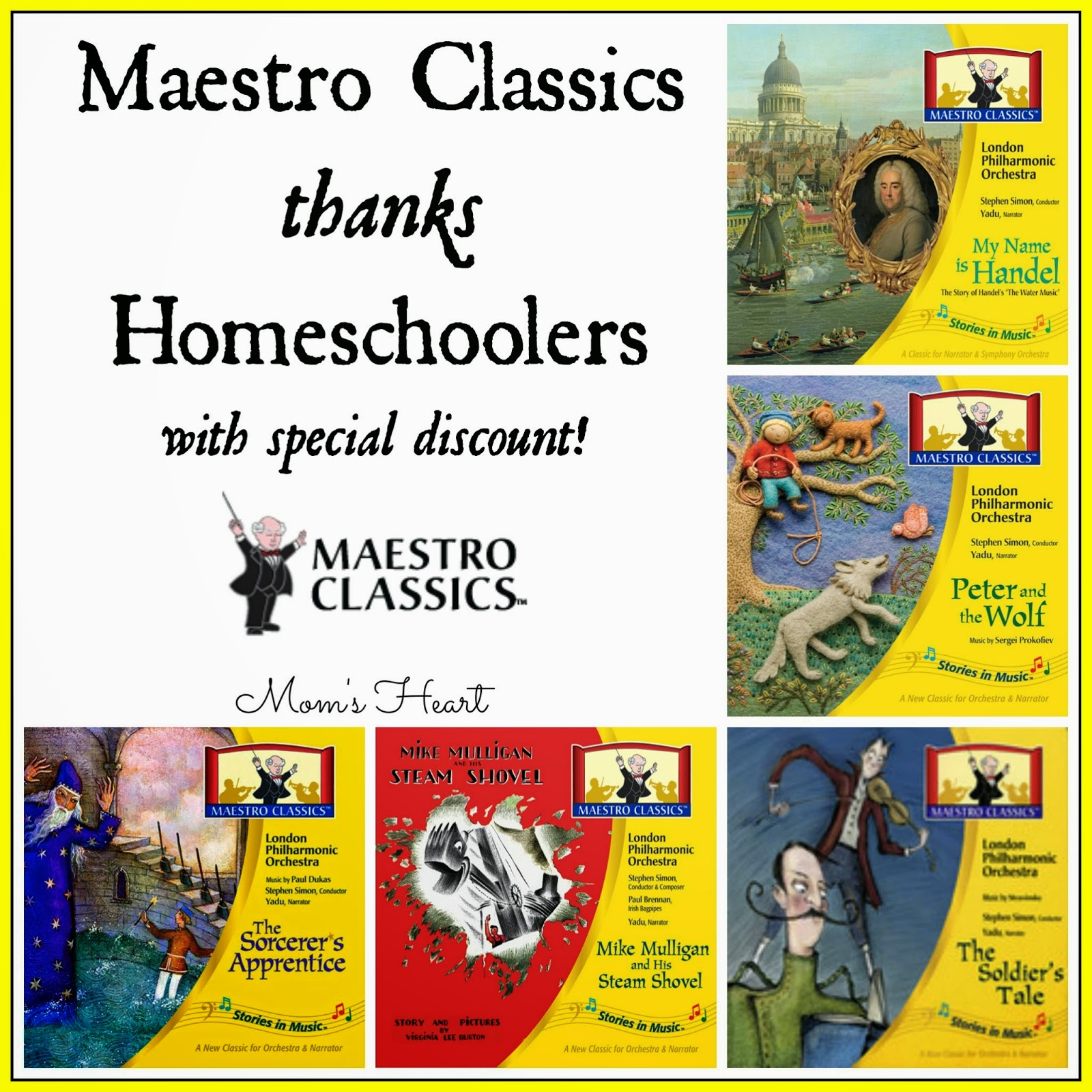 Moms heart september 2014 maestro classics thanks homeschoolers with special coupon code fandeluxe Gallery