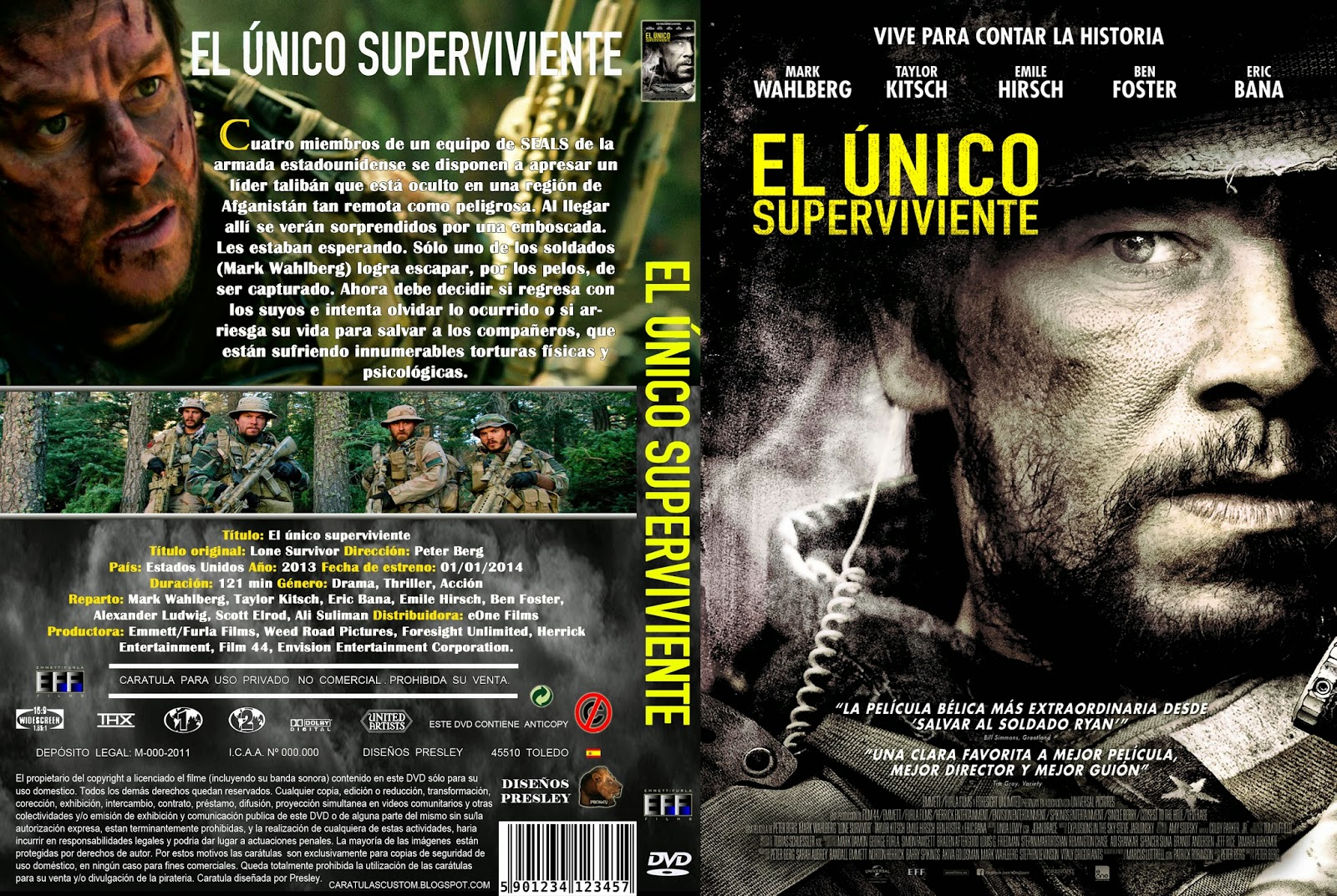 El nico superviviente full 1080p hd mkv espa ol latino for El mural pelicula descargar