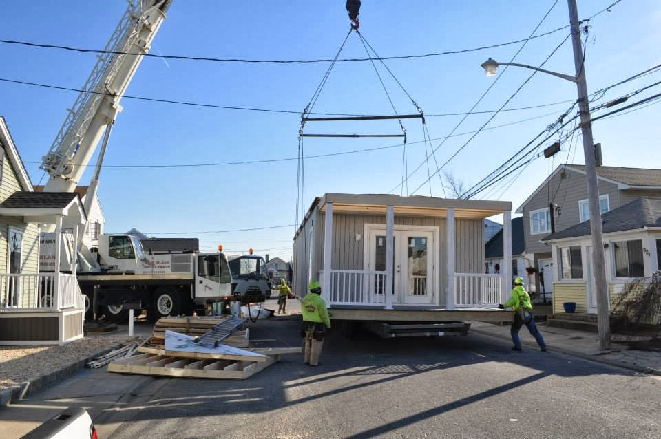 Modular Home Builder Express Modular Builds A Very Narrow