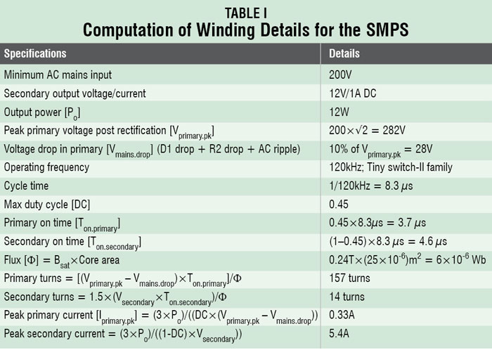 12V, 1A SMPS Circuit Diagram | Electronic Circuits Diagram