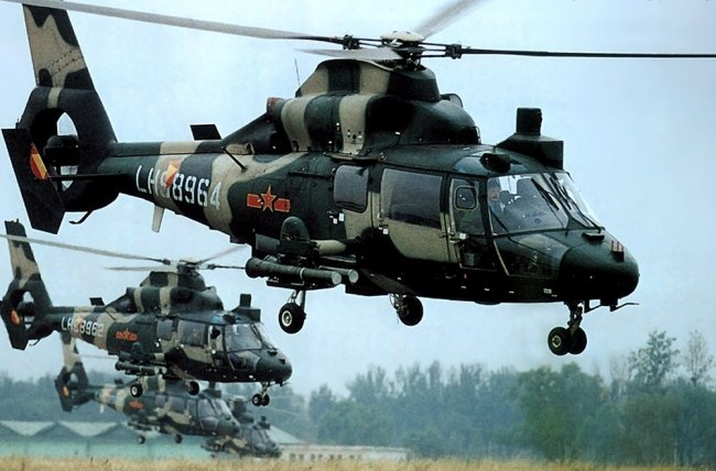 Bolivia - Página 20 Harbin+Z-9-+attack-helicopter+1