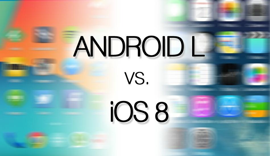 iOS 8 y Android L Frente a Frente en un Vídeo
