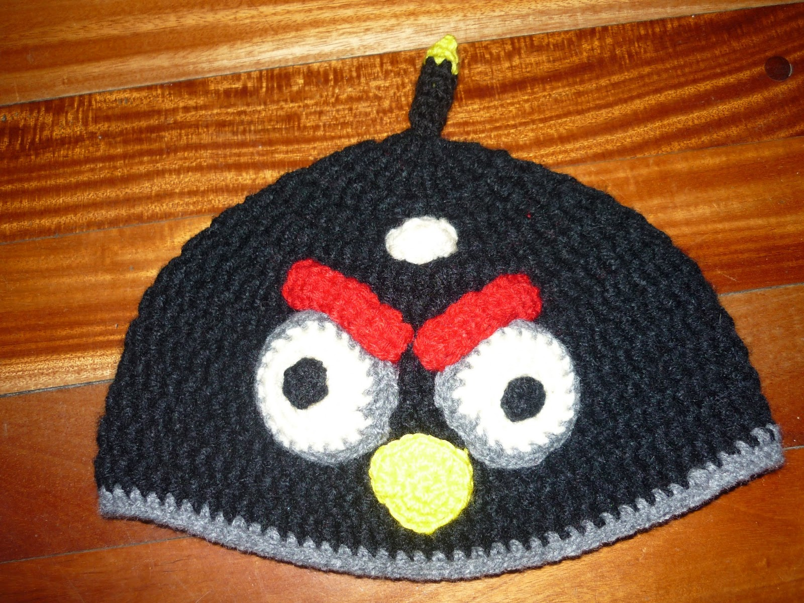Angry Birds Gorros Crochet