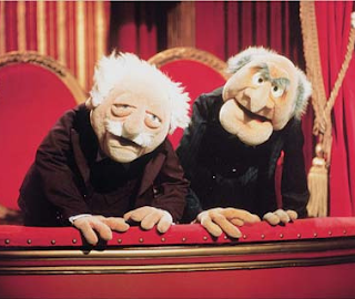 Statler and Waldorf Blog Critics