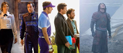 New images for Pixels, Horrible Bosses 2 and Dracula Untold