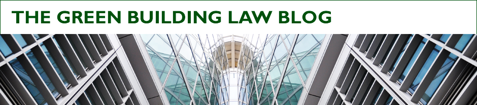 The Green Building Law Blog
