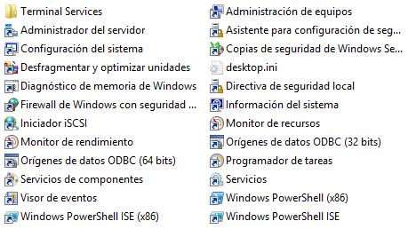 Windows: Acceder a las herramientas administrativas de forma rápida (todas las versiones de Windows)