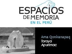 ♣ MAPA DE LA MEMORIA Y LA CONSCIENCIA EN EL PERÚ. CONTRA LA CULTURA DEL OLVIDO