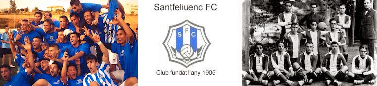 Santfeliuenc FC Fundat l'any 1905