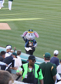 Oakland Athletics Mascot