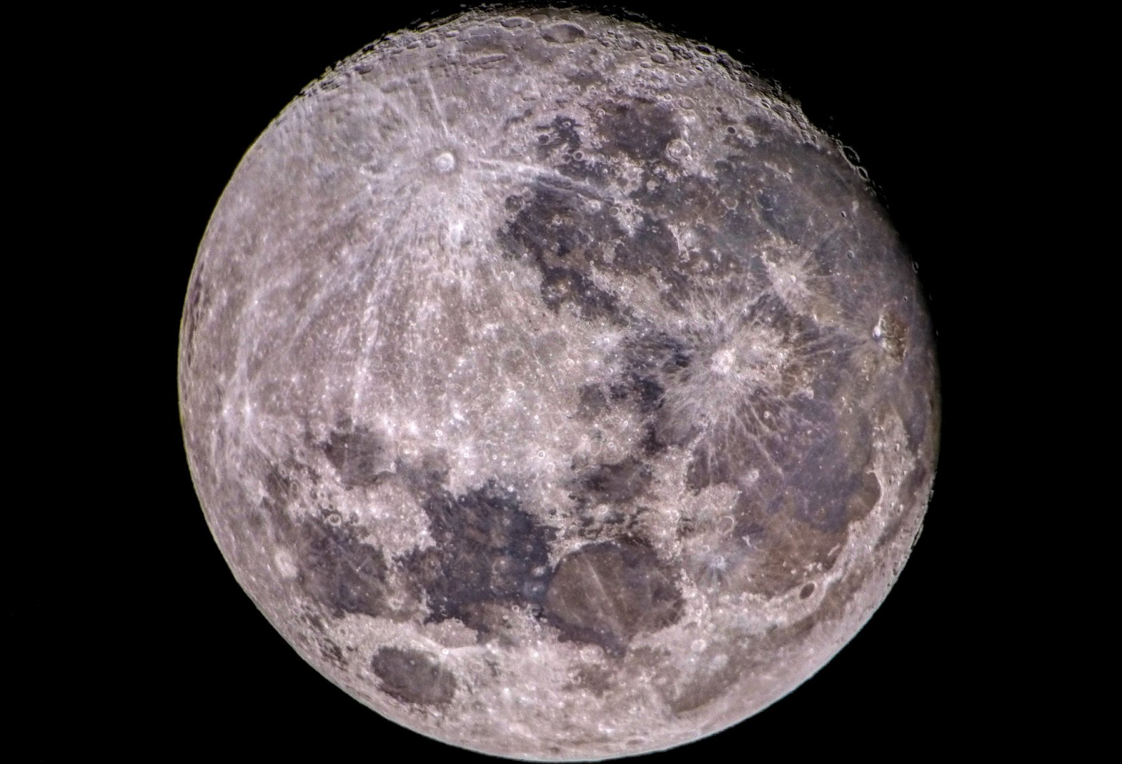 Moon, Celestron C6  目鏡擴大攝影