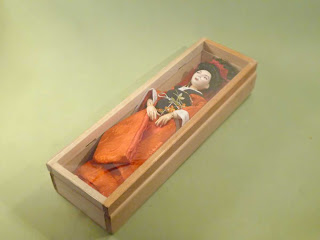 porcelain bjd wooden box