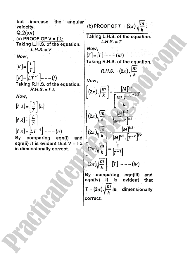 Physics-Numericals-Solve-2013-five-year-paper-class-XI