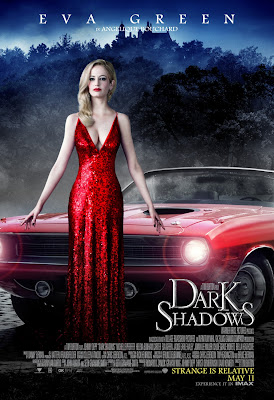 Eva Green Dark Shadows Movie Poster