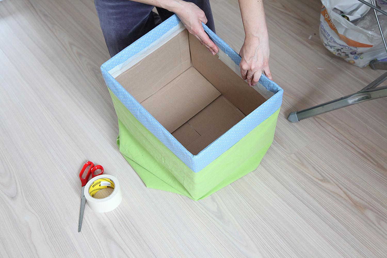 Как сделать красивые короба для хранения вещей