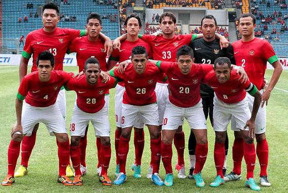 Skuad Timnas Indonesia AFF Suzuki Cup 2012