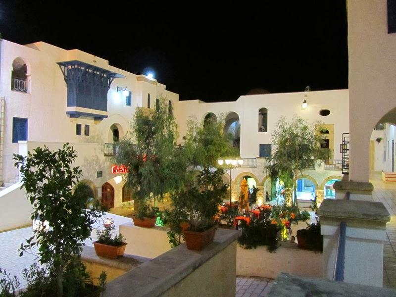 Medina, Yasmine Hammamet, Tunisie, Hammamet