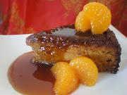 Mandarin Almond Syrup Cake (mandarin )