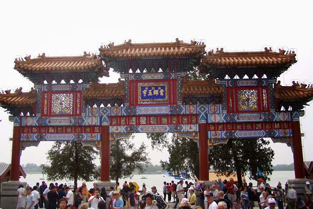 Lake Kunming Chinese Gate