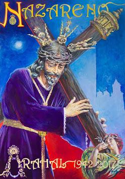 Cartel LXXV años Jesús Nazareno Arahal 2017