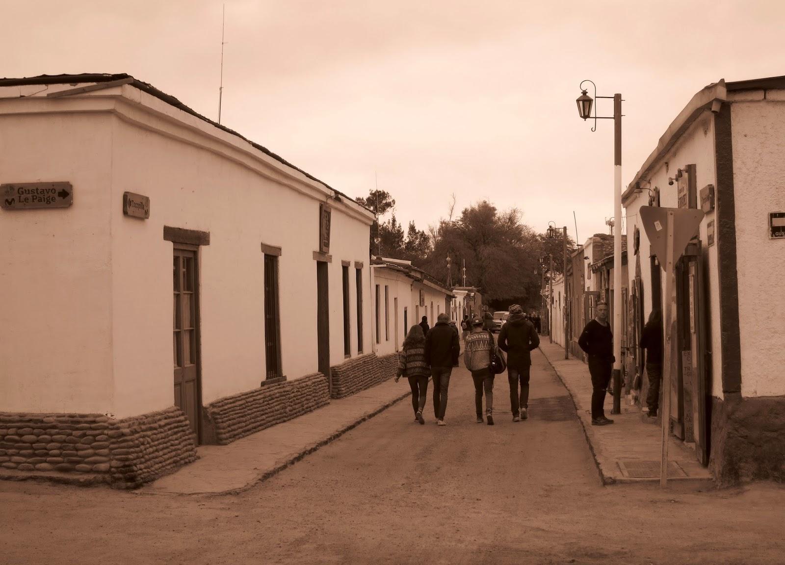 Calles de San Pedro de Atacama
