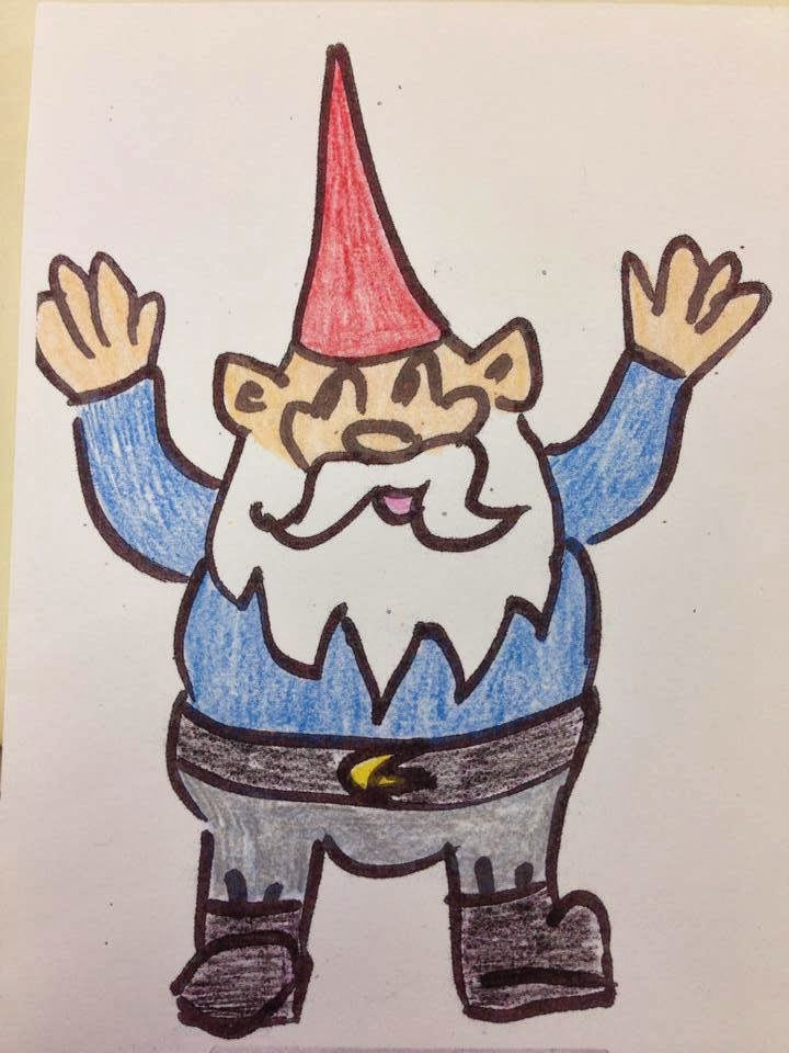 Want to see more from my favorite gnome?