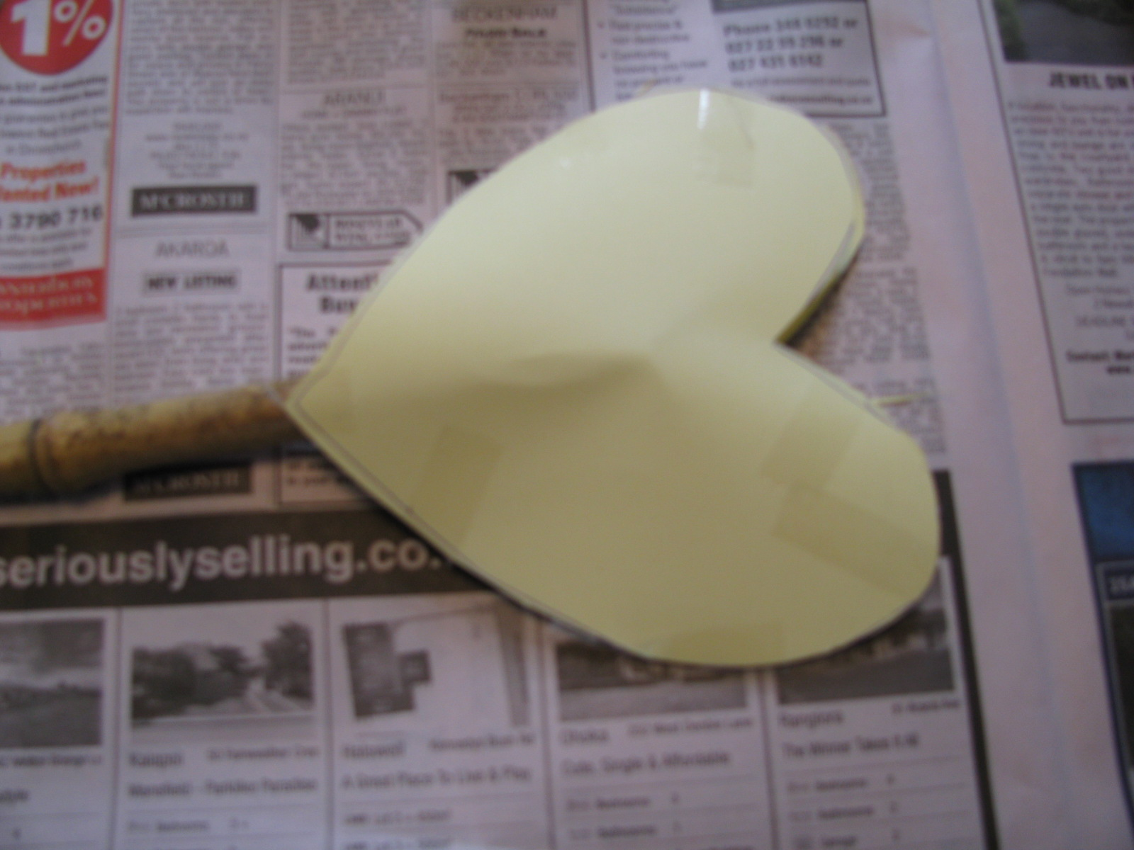 how to make a cercular end peice out of paper