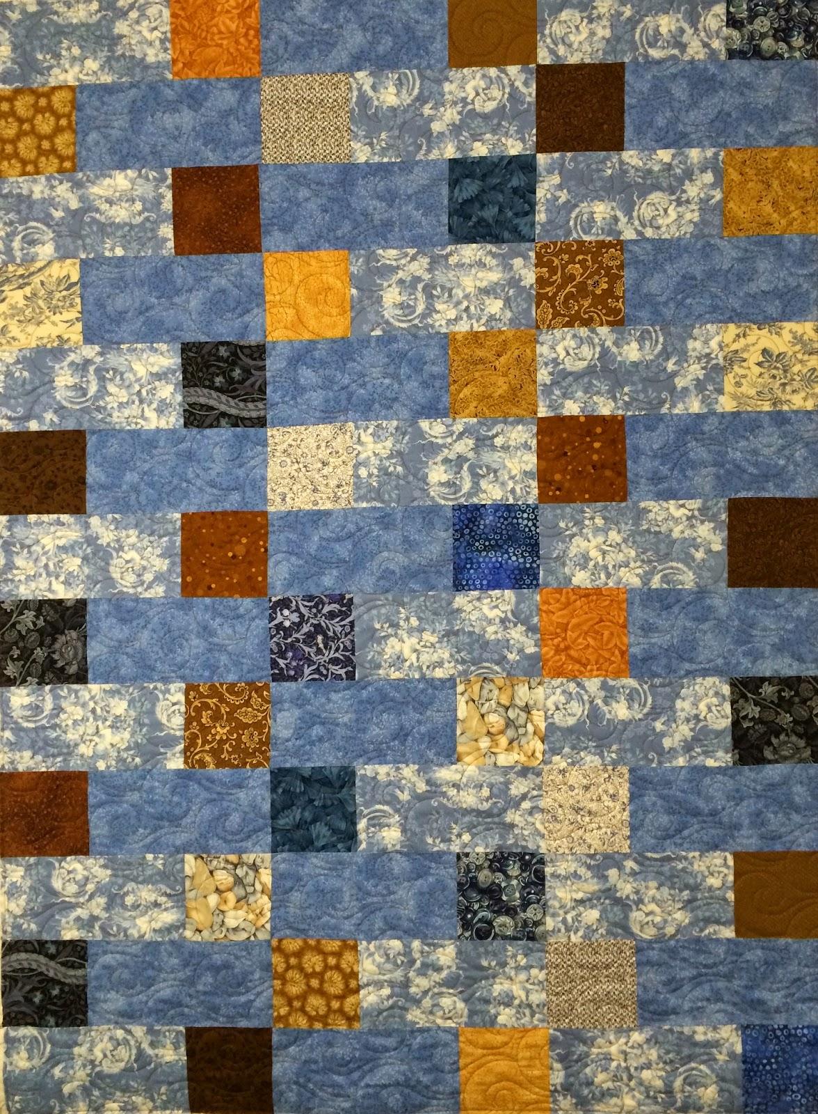 Delia Romero's Floating Squares Quilt
