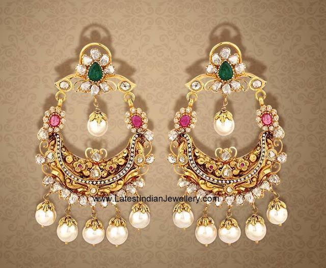 Nakshi Chandbali Earrings