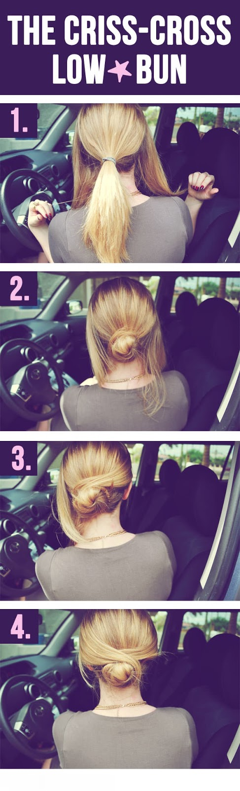 ... Quick and Easy Hairstyles You Can Do in Your Car Amazing Information
