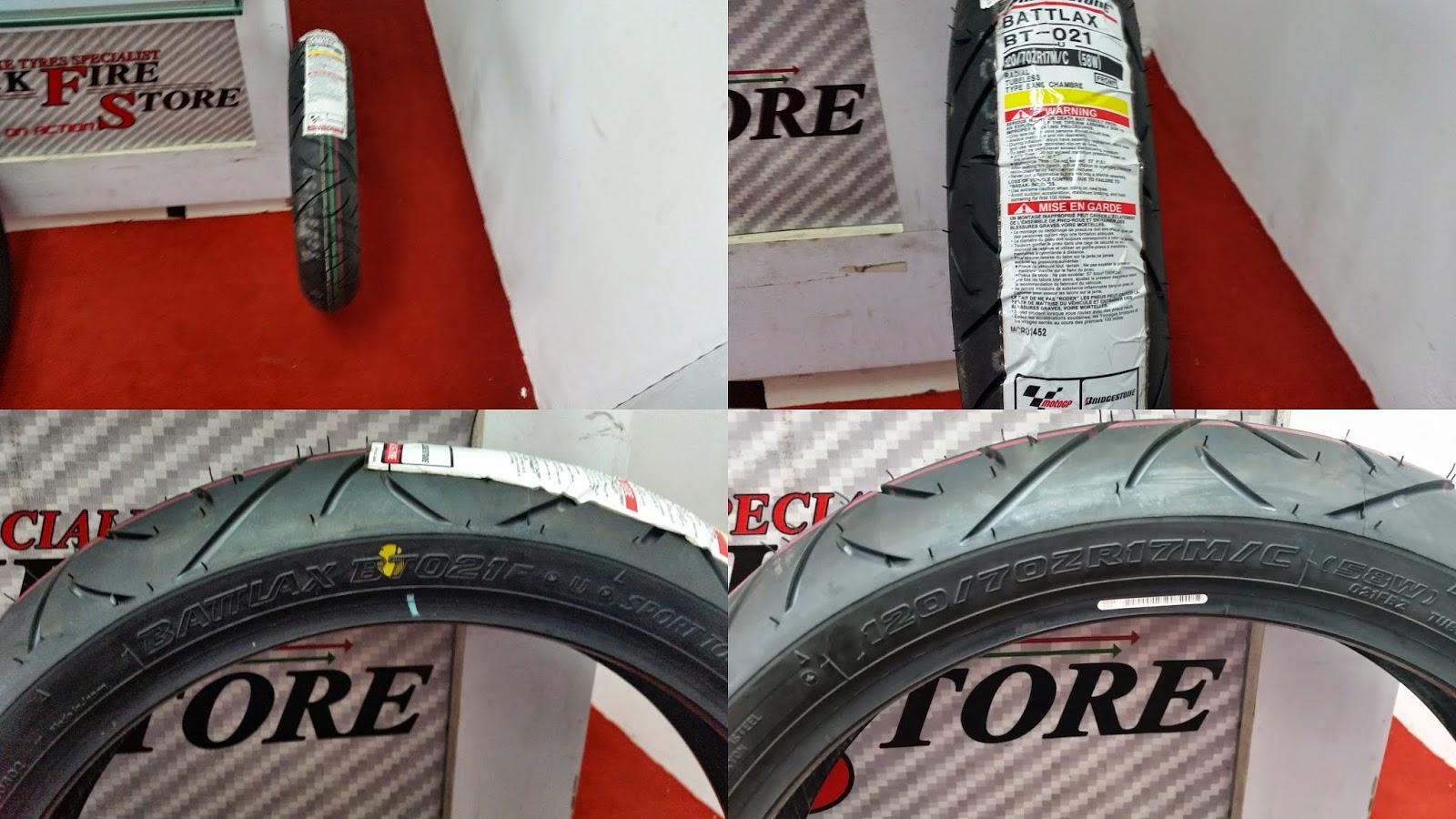 Blackfire Store Superbike Tyres Bike Parts Zeneos Zn 62 120 70 17 Bridgestone Battlax Bt 021 Size Front