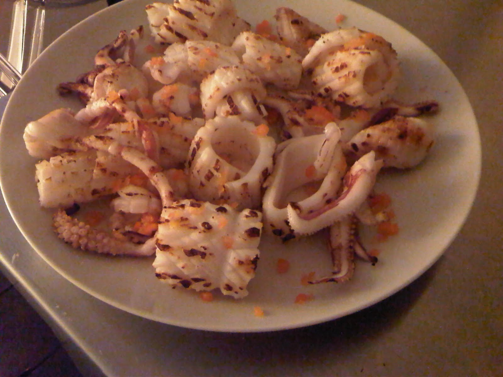 Seared Squid with Chilli, Lime and Sea Salt | Brixton's Bounty