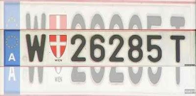 Áustria bane códigos neonazistas em placas de carros