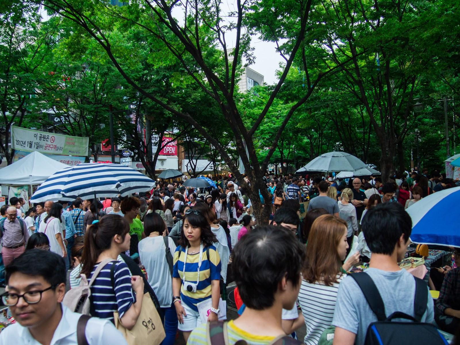 Flea Market Hongik, Flea Market Hongdae