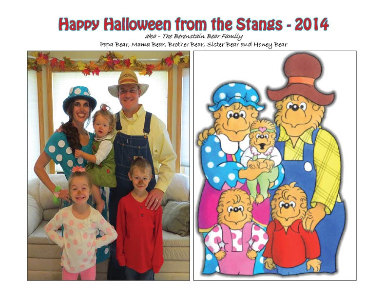 Happy Halloween from the Berenstain Bear Family!  sc 1 st  Waiting for Baby Stang & Stang Family of Five: Happy Halloween from the Berenstain Bear ...