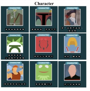 soluce iconmania niveau 14 caracteres