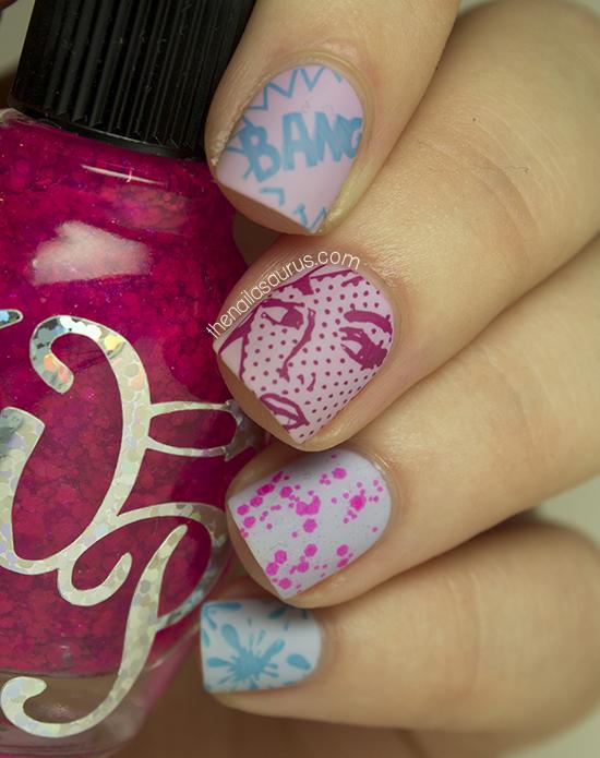 Pop Pop! - The Nailasaurus | UK Nail Art Blog