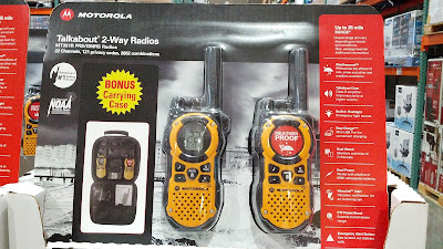 Motorola Talkabout 2-way radios for the outdoors