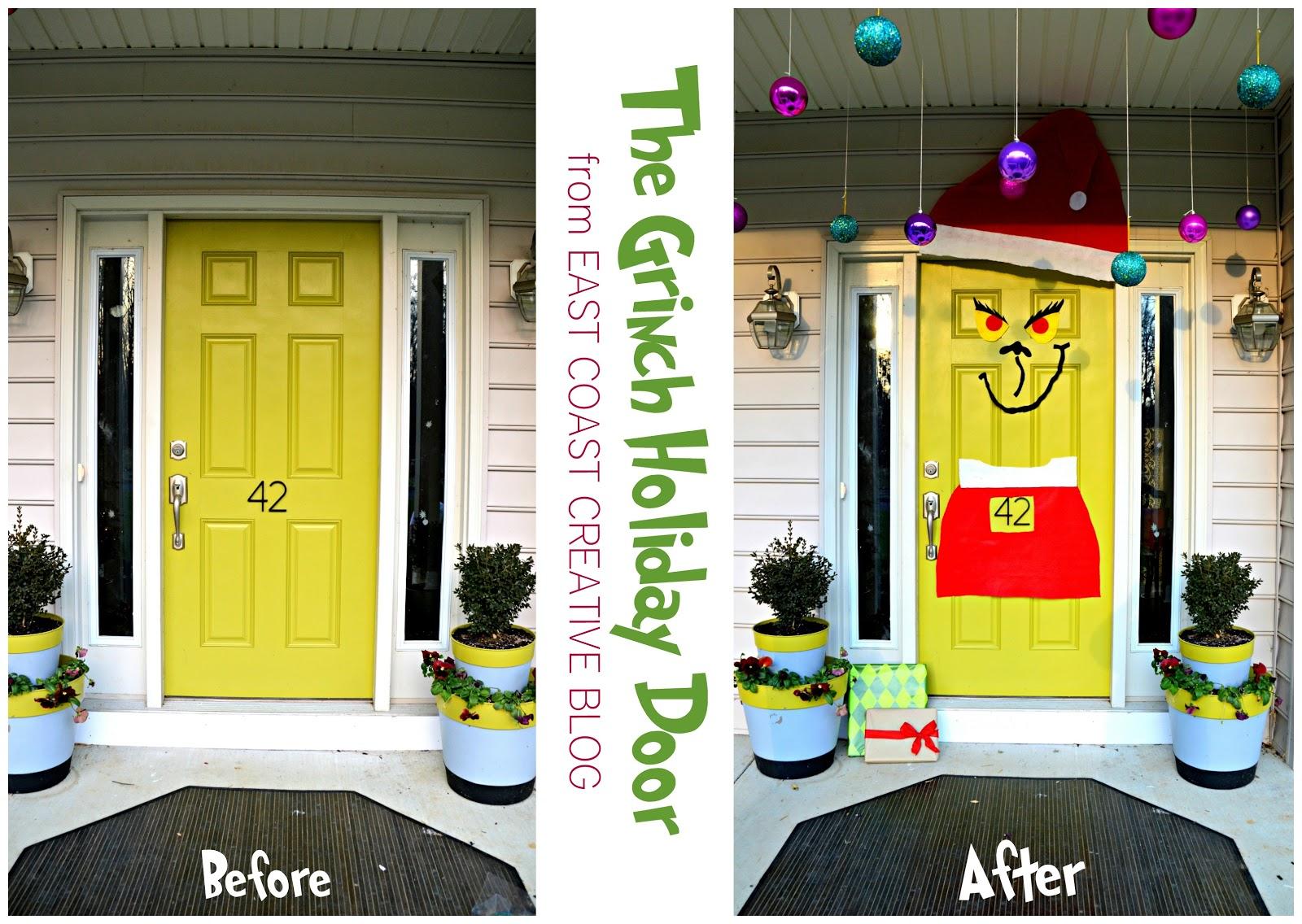& The Grinch Front Door Christmas 2012 - East Coast Creative Blog