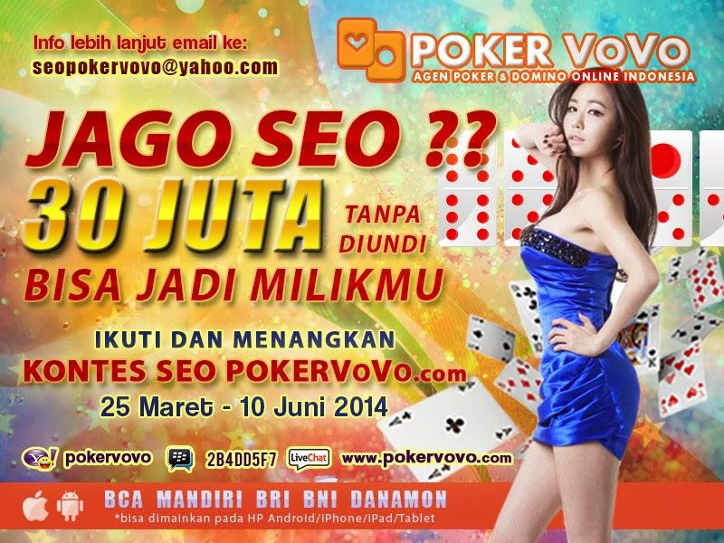 PokerVoVo.com Judi Poker Online dan Domino Kiu Kiu Uang Asli Indonesia