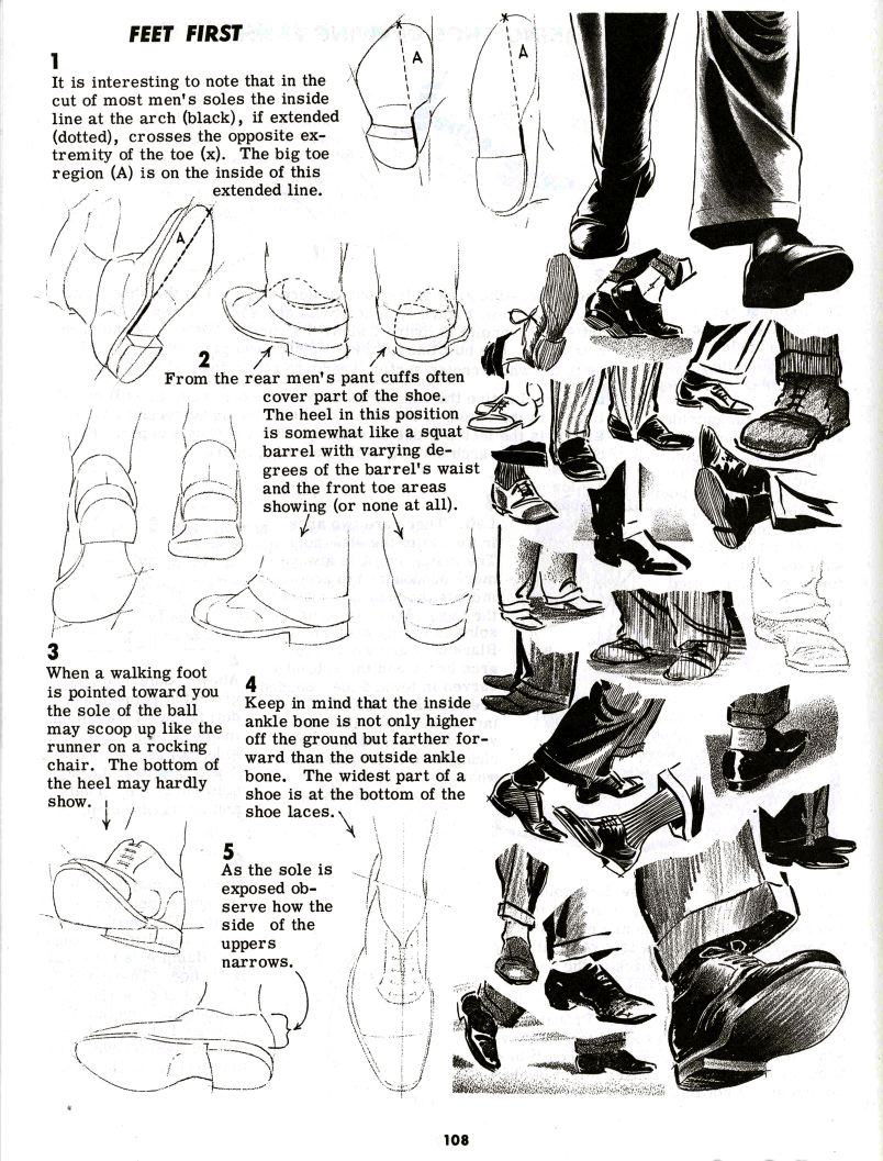 Character and Creature Design Notes Foot (and Shoe