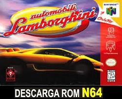 Automobili Lamborghini 64 64 ROMs Nintendo64