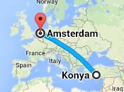Amsterdam-Konya Yolculuk