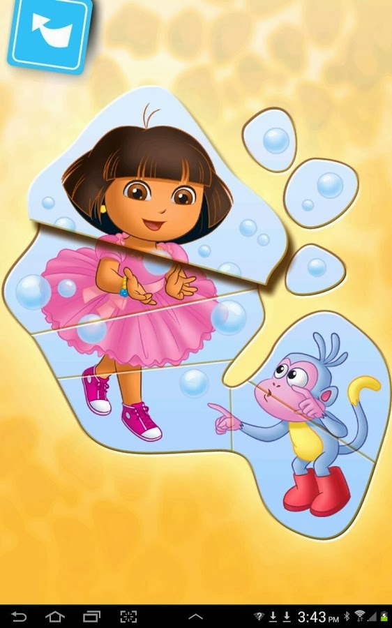 Playtime With Dora free apk game