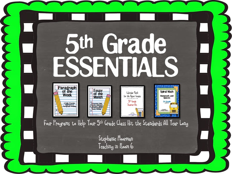 http://www.teacherspayteachers.com/Product/5th-Grade-ESSENTIALS-Bundle-1305403