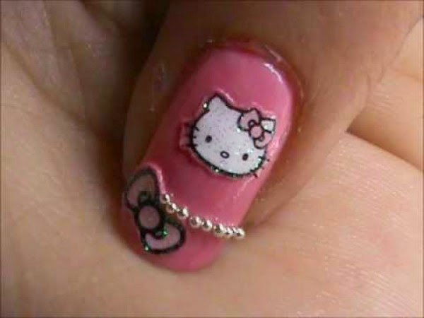 5 Latest Teenage Nail Art Design