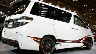 Toyota Alphard modifikasi